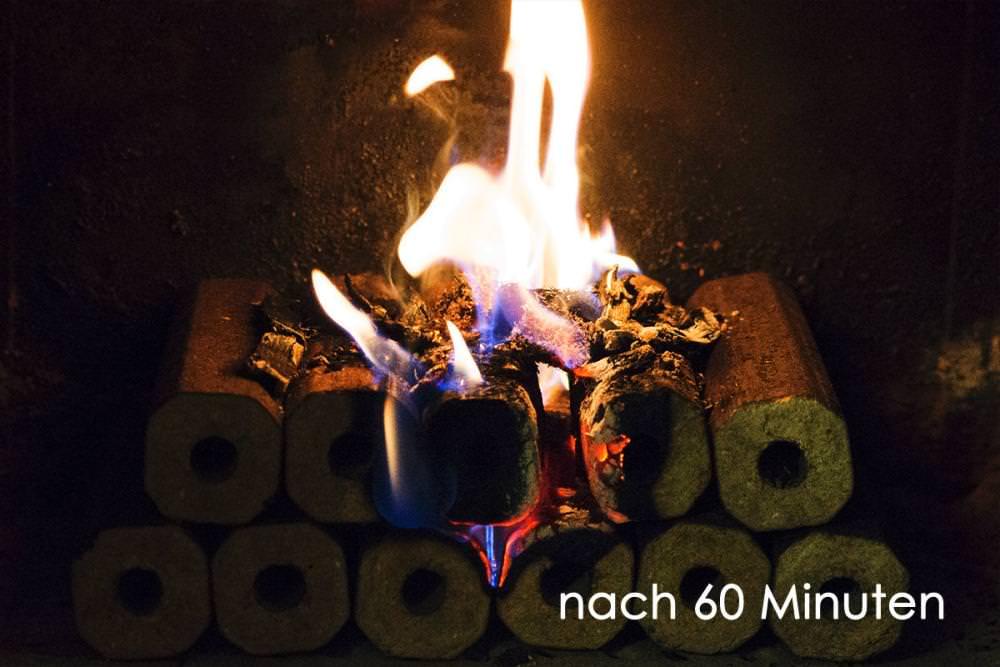 Vorschau: Holzbriketts Kamin Feuer machen 2