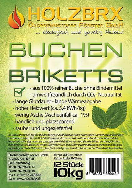 Vorschau: Buchenholzbriketts RUF