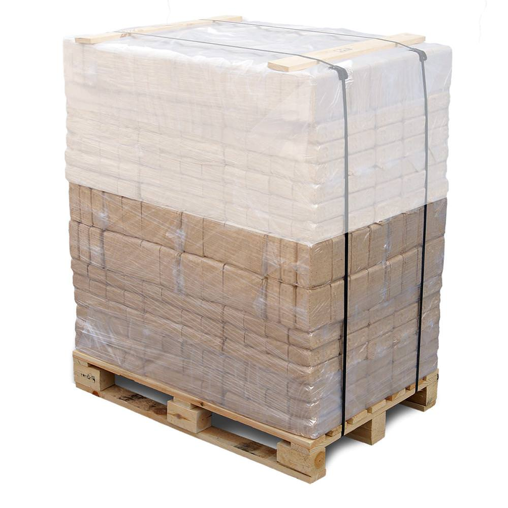 Vorschau: RUF Mischholz Holzbriketts, 480kg Palette