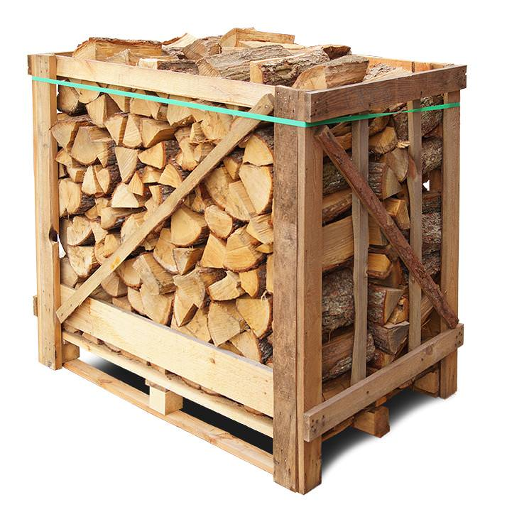 Brennholz Eiche 1RM Box